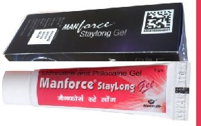Manforce Staylong Gel